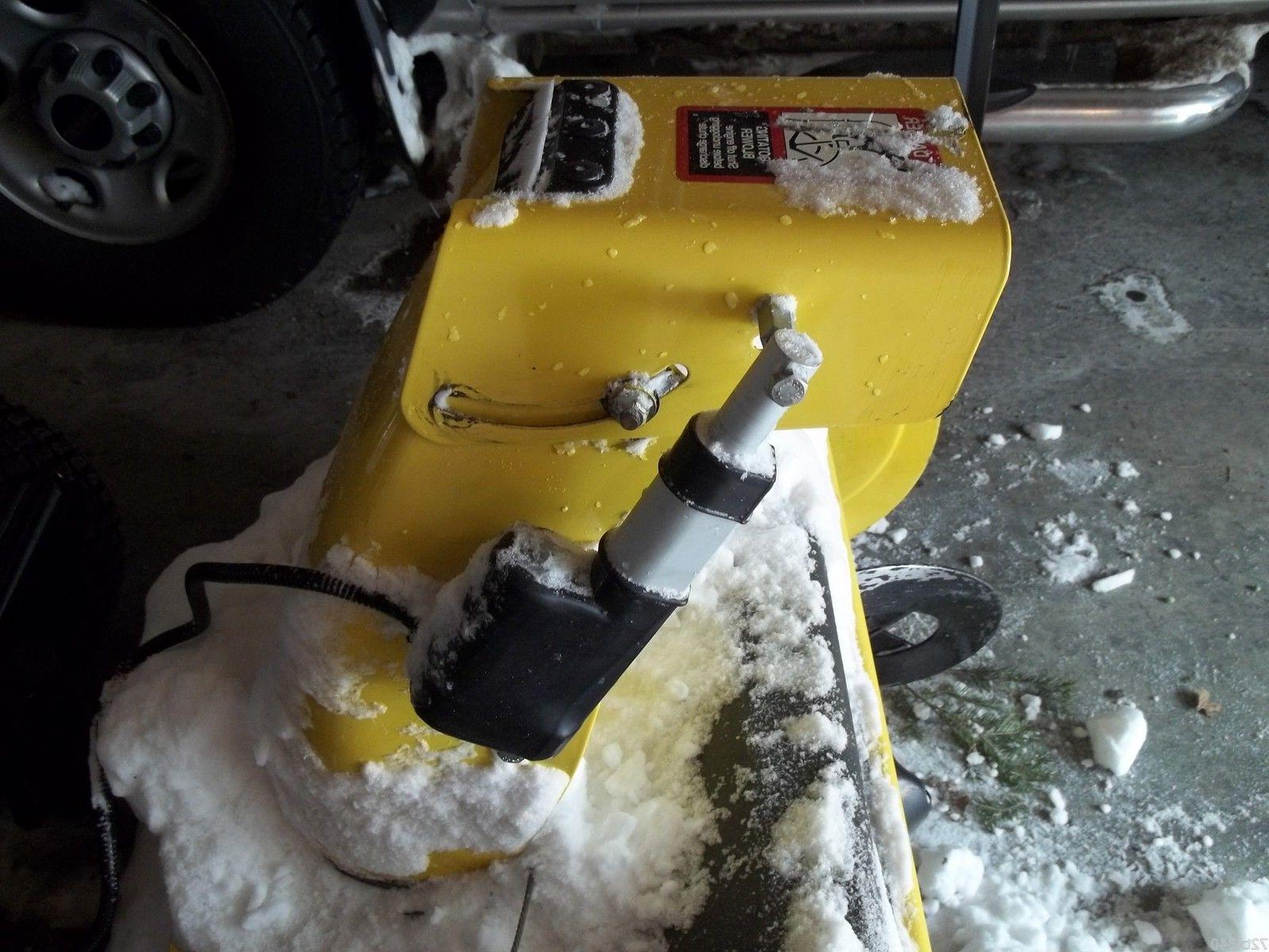 Electric Snow Thrower Spout Chute Control Weatherproof