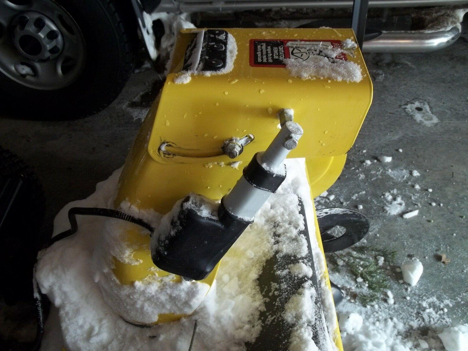 FOR JOHN SNOW BLOWER LINEAR ACTUATOR CHUTE PLANS