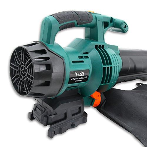 EAST 20V Li-ion 2 Speed Powered Leaf Cordless Sweeper Battery & Included
