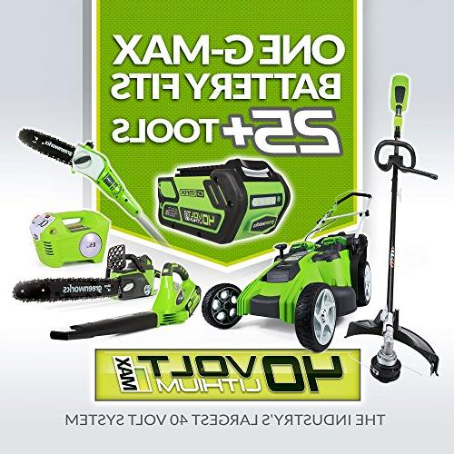 Greenworks 40V Cordless Included