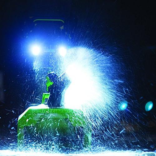 Greenworks 20-Inch 40V Brushless Snow Thrower, Not 2601102