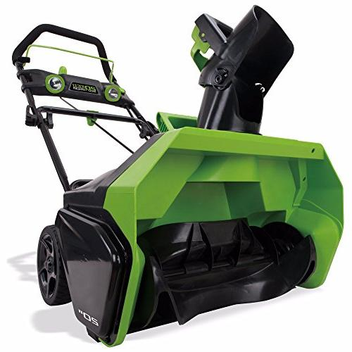 Greenworks 40V Cordless Brushless Snow Thrower, Battery