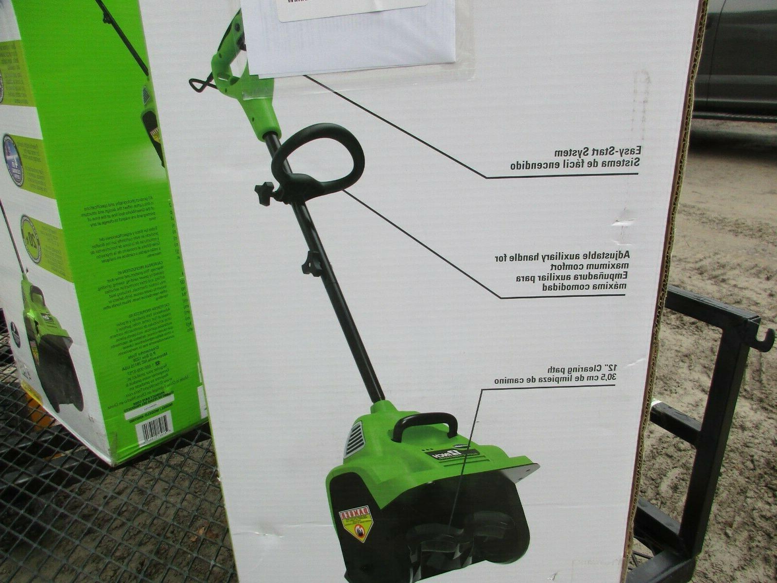 New, Greenworks 12-in Single-stage Blower