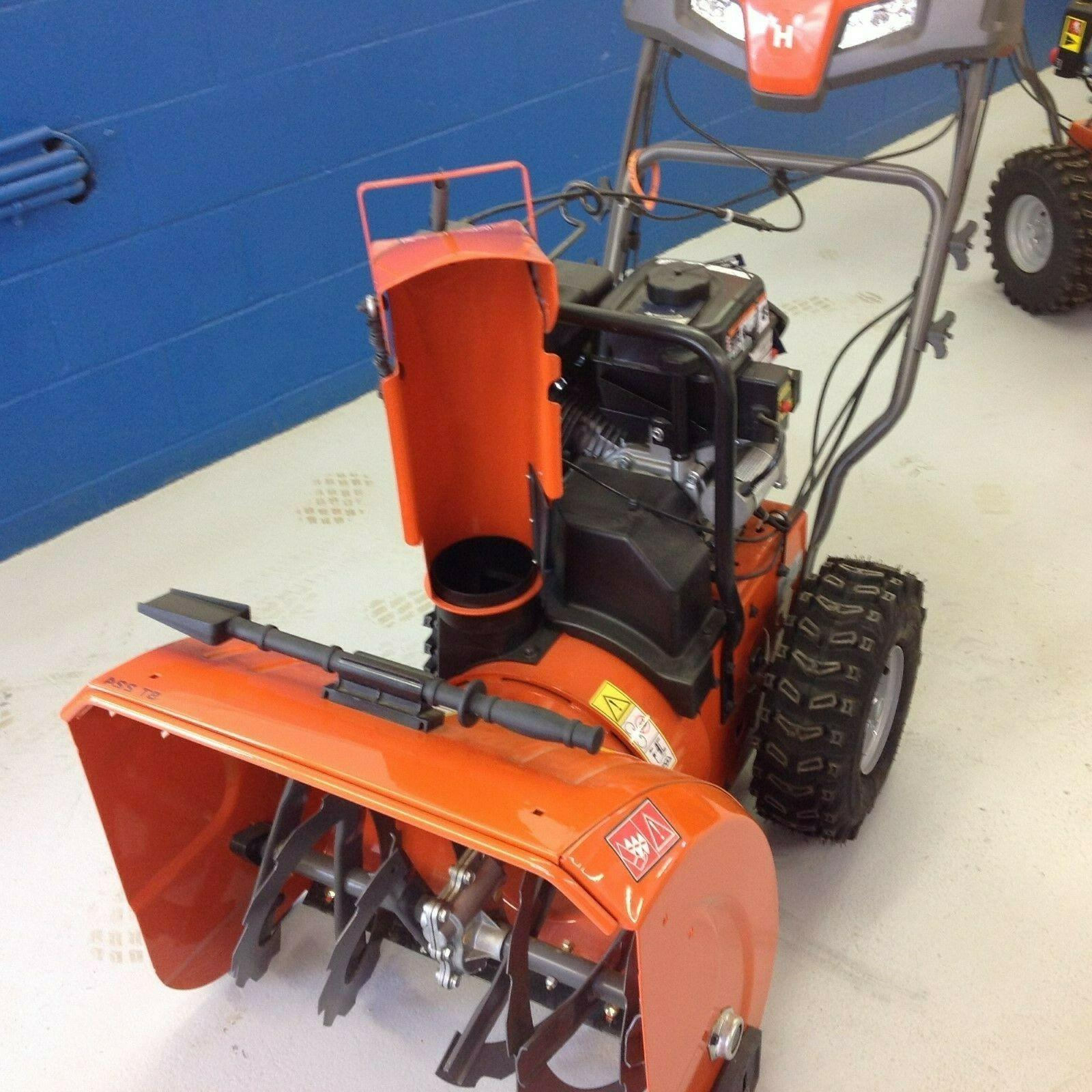 new st224 snow blower