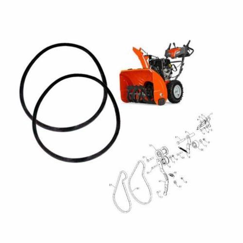 oem auger and drive belt set 581832401