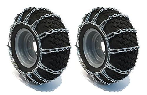 pair 2 link tire chains