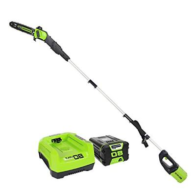 Pole Saws GreenWorks Pro PS80L210 80V 10-Inch Cordless Saw,