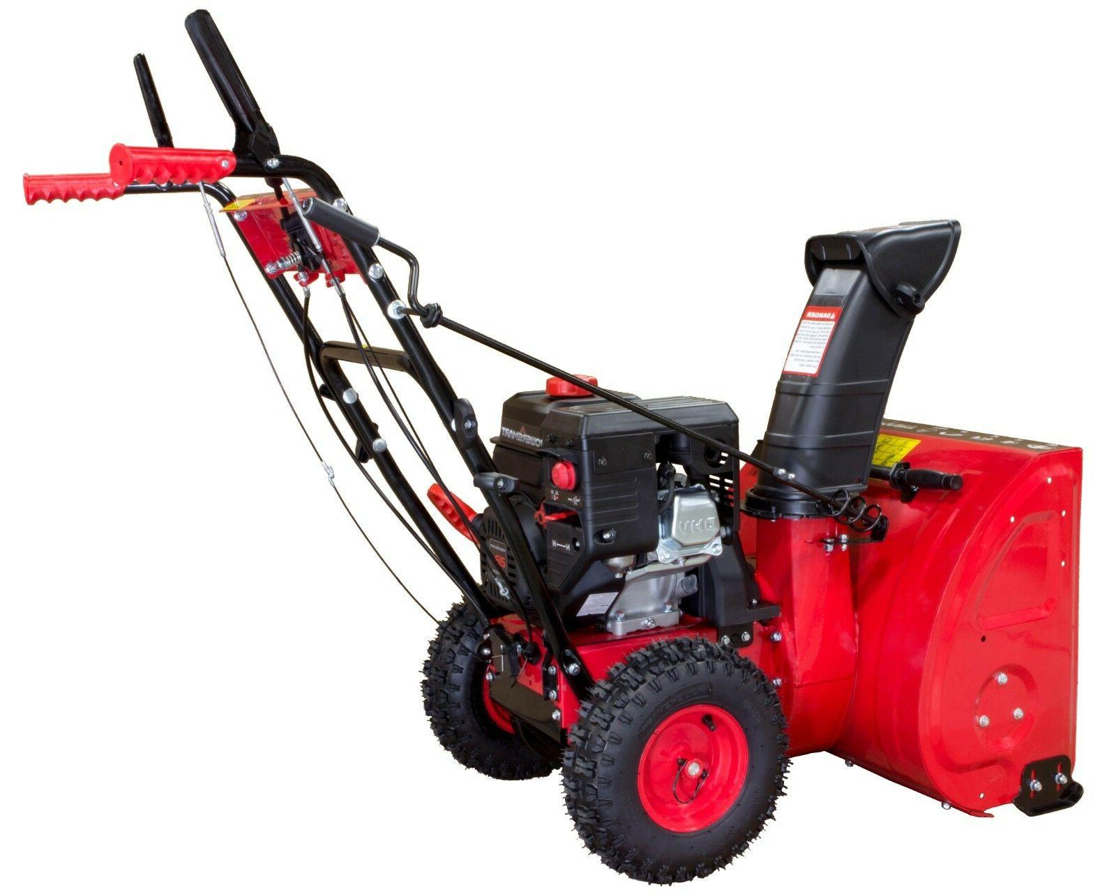Power DB7624E1 24in. 2-Stage Gas Snow Blower