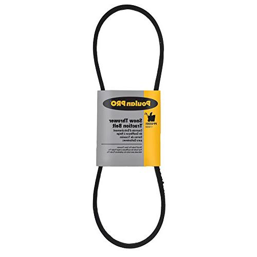 pp40001 snow thrower traction belt