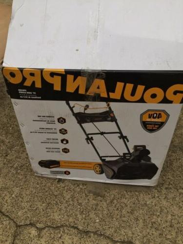 Poulan Pro 40-Volt Lithium-Ion Battery Thrower