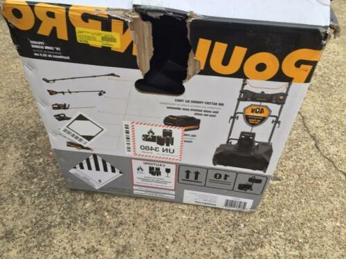Poulan Pro Lithium-Ion Rechargeable Battery Snow Thrower