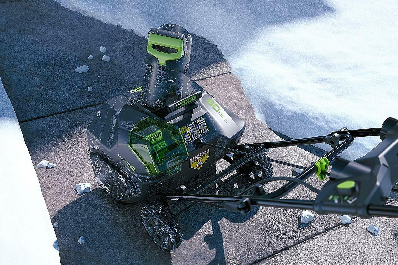 NEW Greenworks PRO 80V Cordless Snow + -