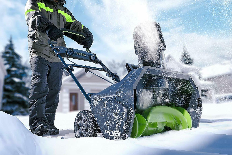 NEW PRO 80V Cordless Snow + AH -