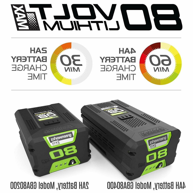 NEW 80V Cordless + 2.0 Battery -