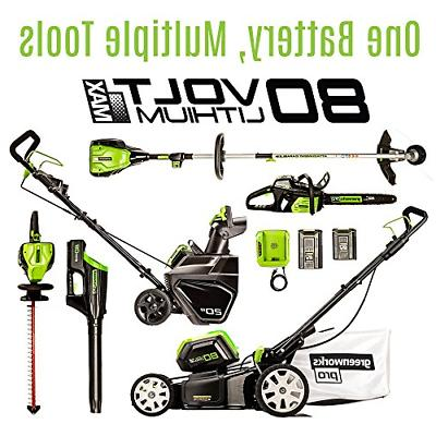 Greenworks PRO 80V Cordless Snow AH Battery Included