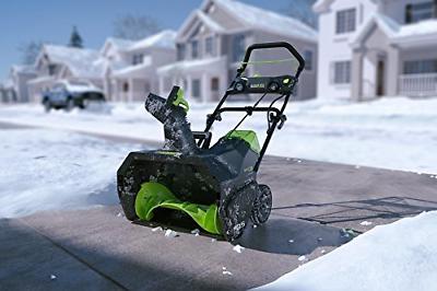 Greenworks PRO Cordless Snow Thrower, AH