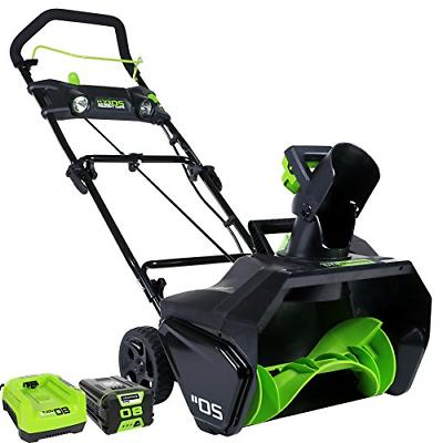 pro 20 inch 80v cordless snow thrower