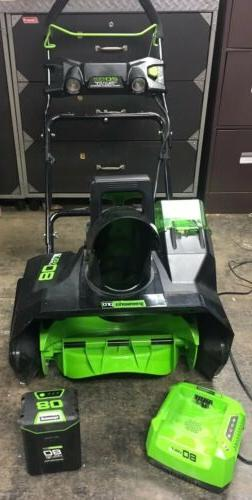 GreenWorks PRO 20 inch 80V Cordless Snow Thrower