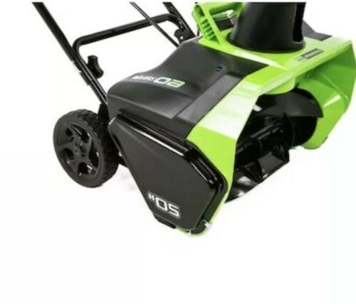 Greenworks Pro 60-Volt Single-Stage Push Electric Snow