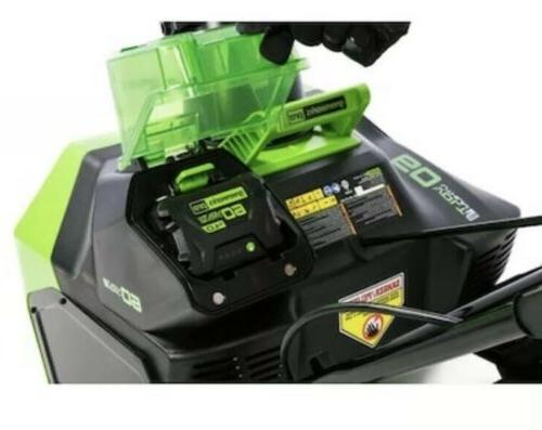 Greenworks Single-Stage Push Electric Snow