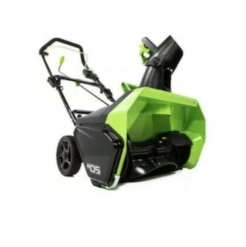 Greenworks Single-Stage Push Snow Blower