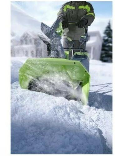 Greenworks Pro 20-in Single-Stage Push Cordless Snow