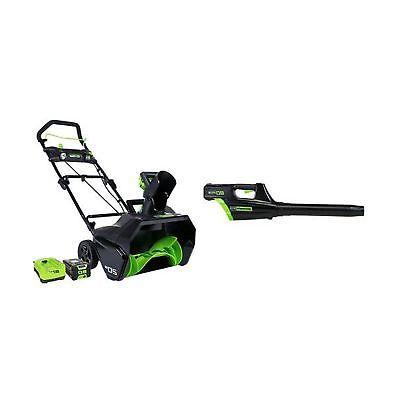 pro 80v leaf blower snow thrower 2ah