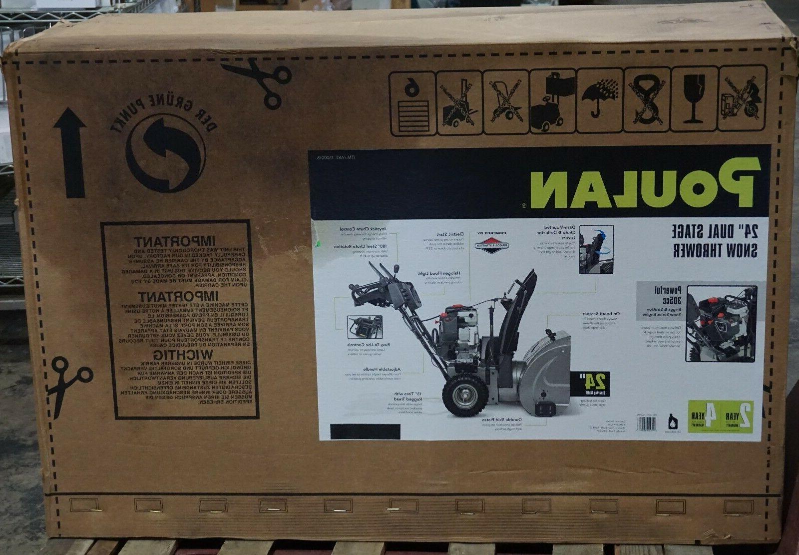 Poulan Pro P2400 305cc Dual-Stage New