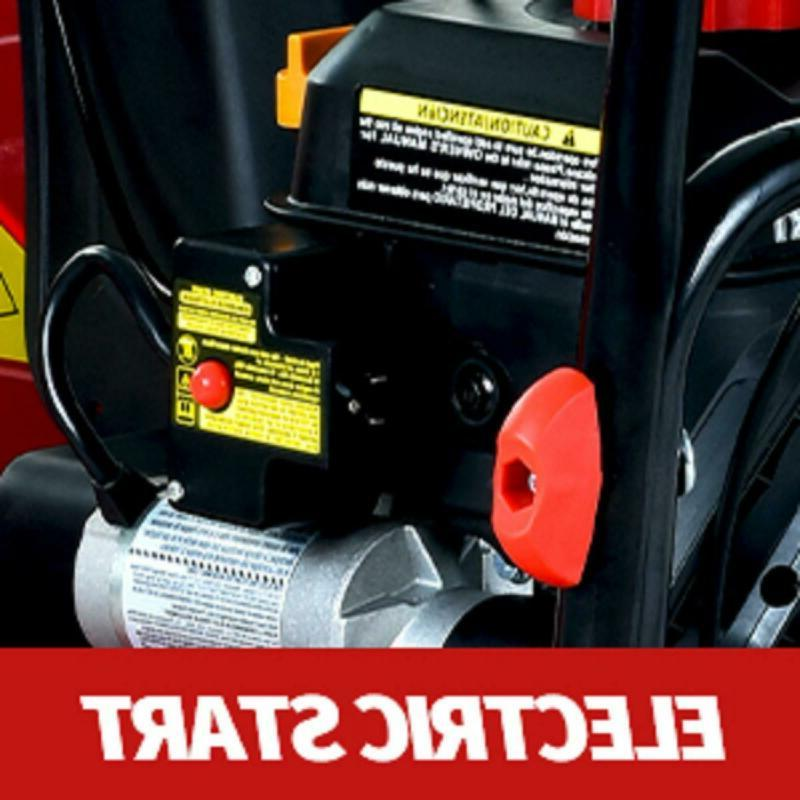 PowerSmart PSS2240-W 212cc 2-Stage Electric Gas Snow Blower
