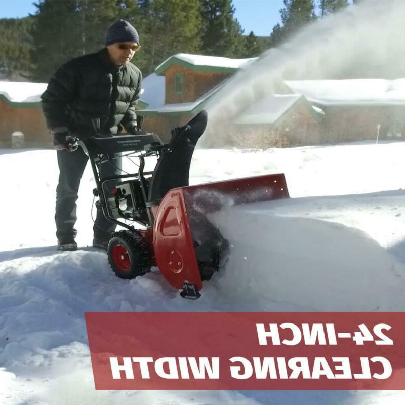 PowerSmart PSS2240-W 212cc Gas Snow