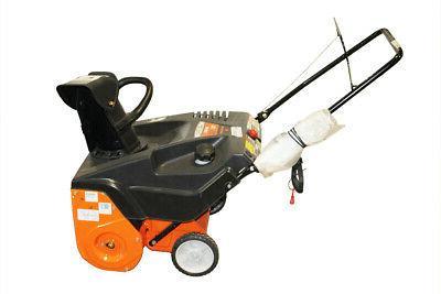 push snow thrower 123cc engine mtd rem