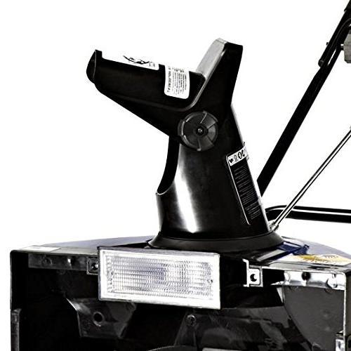 Snow Joe SJ621-RM 13.5-Amp Electric Thrower With Headlight