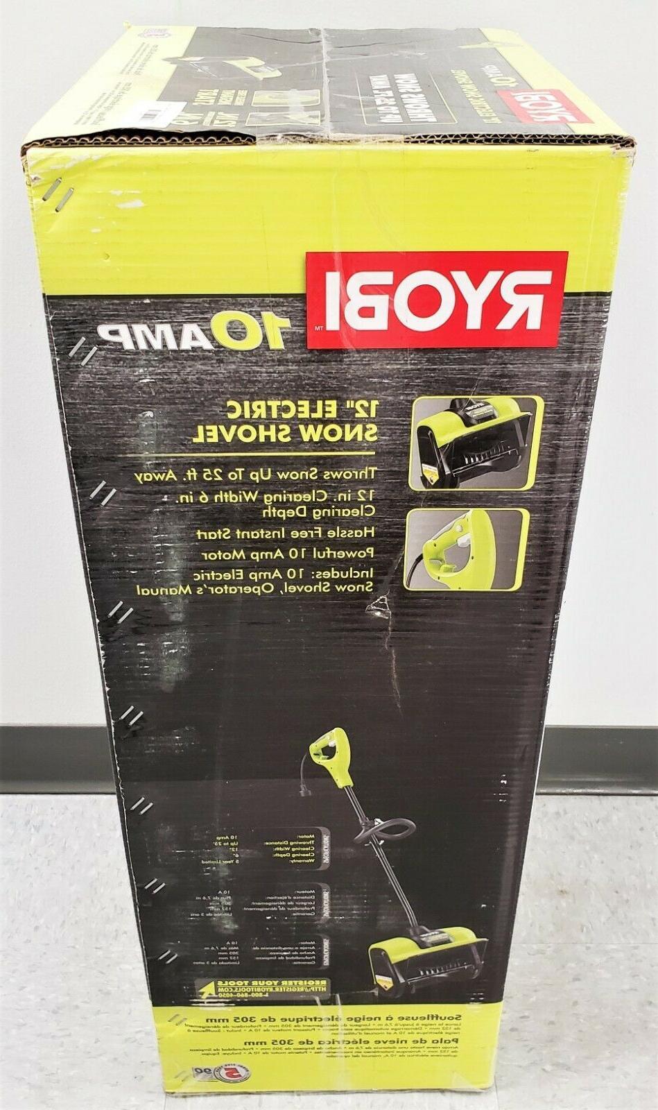 Ryobi RYAC804-S 10 Amp Corded Electric Blower Shovel New