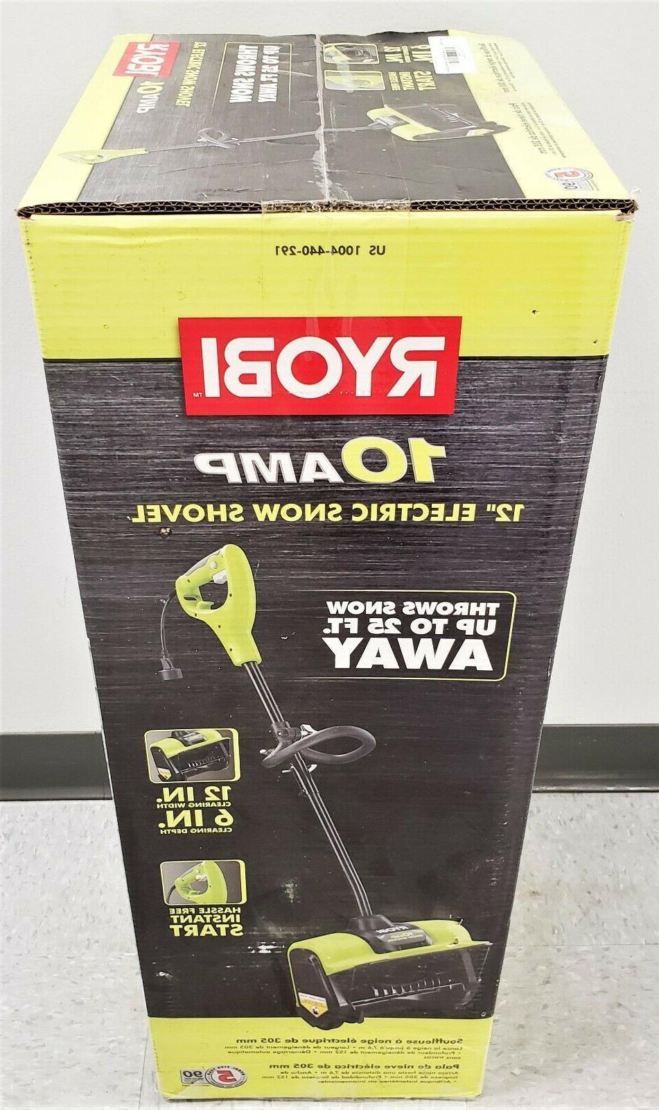 Ryobi RYAC804-S 12in. Amp Electric Blower Shovel