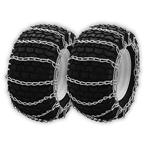 set two snow tire chains
