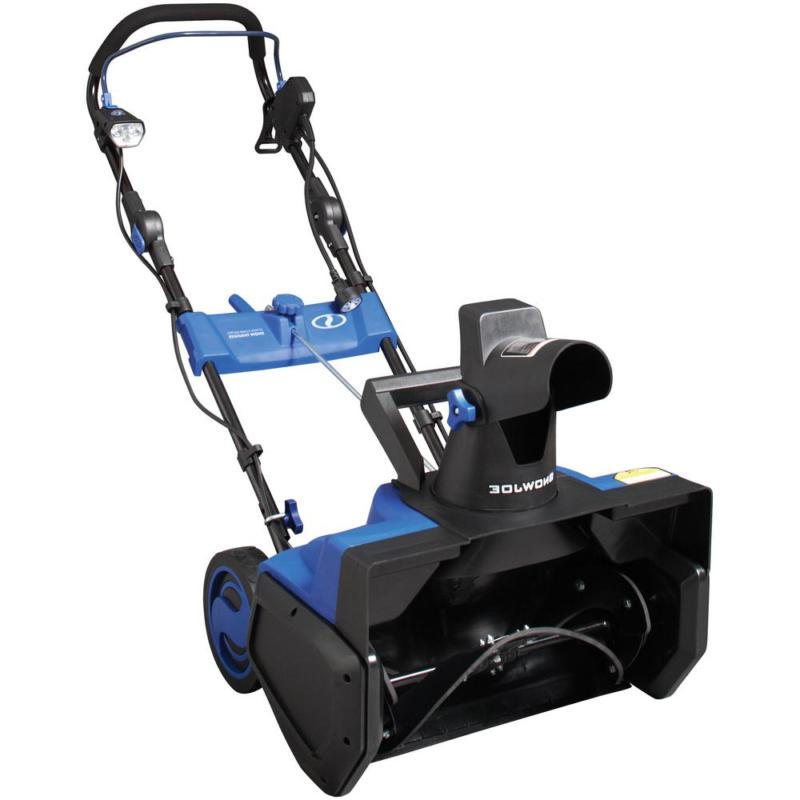 Electric Snow Blower with Light - Driveway Walkway Snow Remo