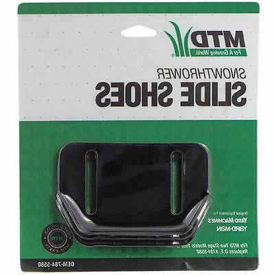 MTD Slide Shoe Kit