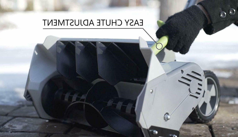 Earthwise Snow Shovel Brushless Motor 16 In. 300lbs/min