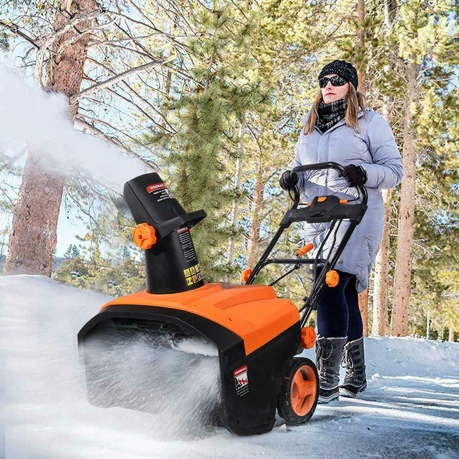 Amp Electric Snow Thrower, Auger