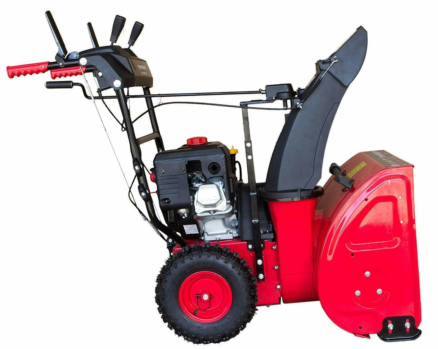 24 in. Electric Snow Blow