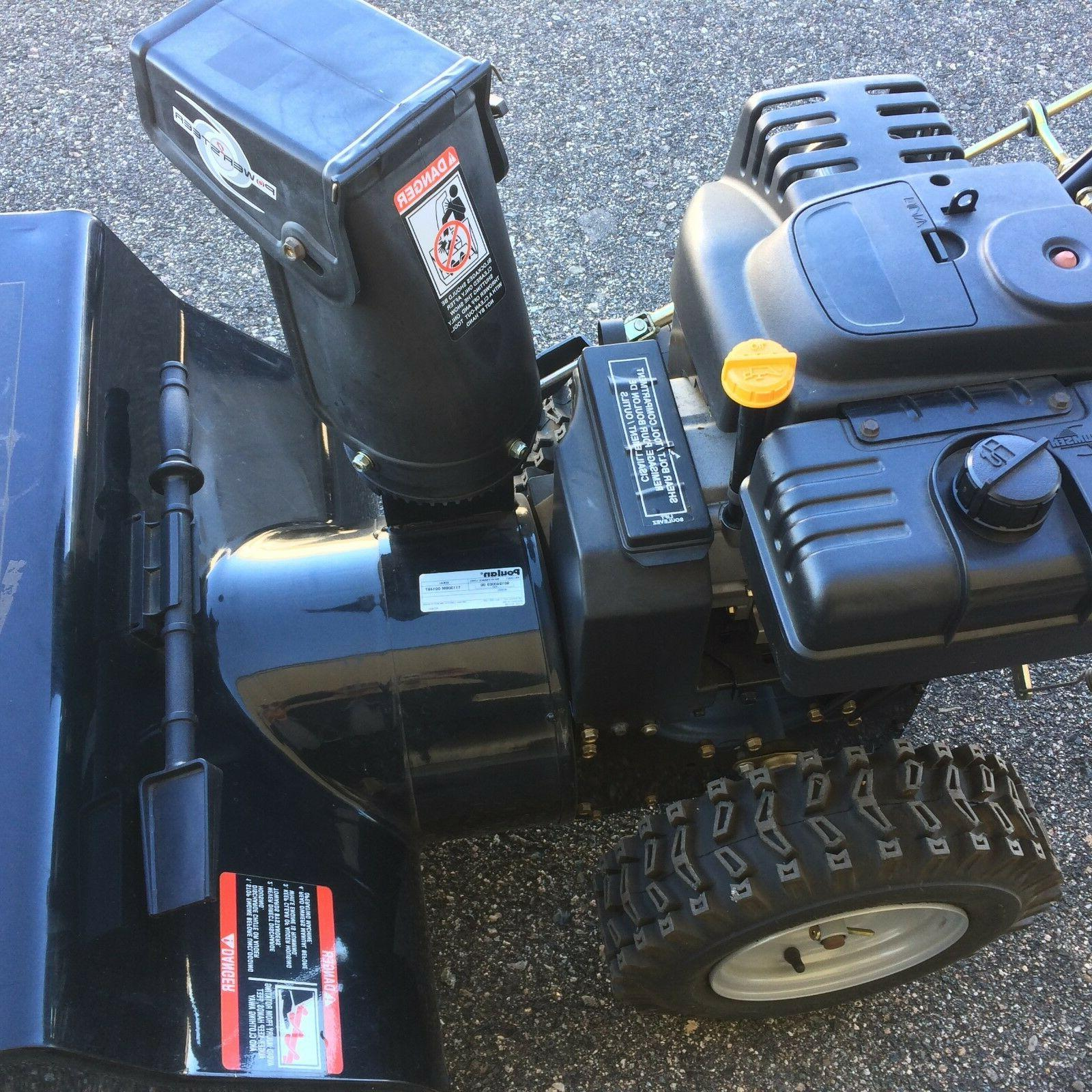 snow blower-Poulan Start, 10.5 HP, 29 Snow NEW