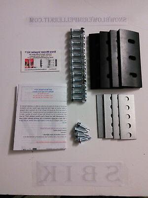 snow blower impeller kit 1 4 4