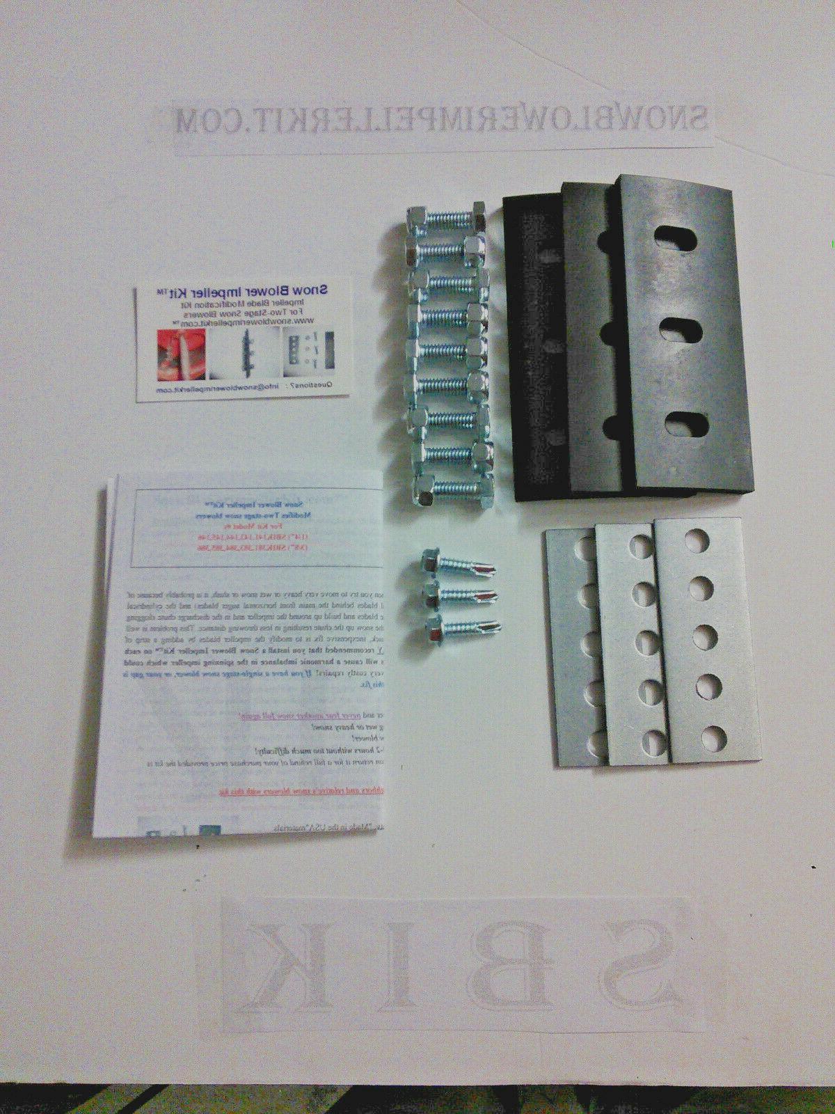 snow blower impeller kit 3