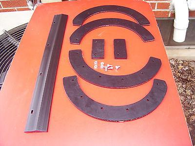 SNAPPER SNOW BLOWER PADDLES , HARDWARE ,