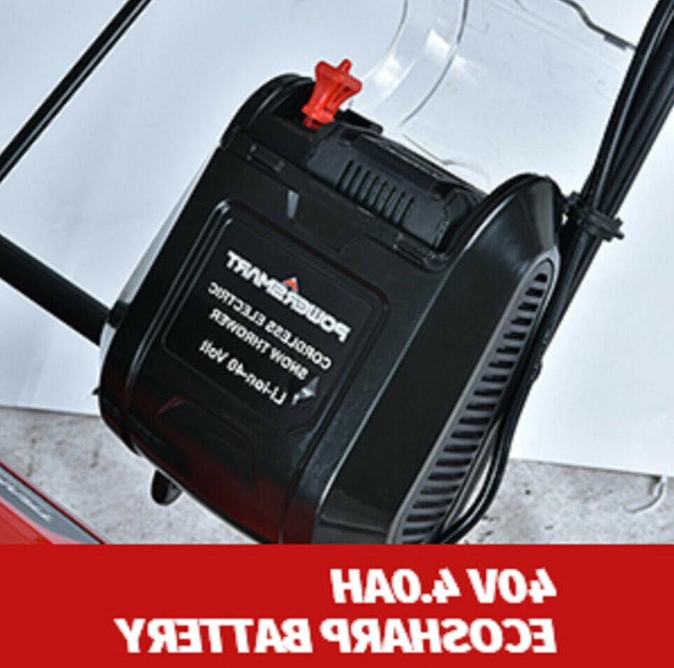 """SNOW BLOWER 18"""" Cordless Battery Charger"""