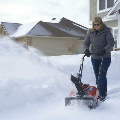 snow blower thrower gas power