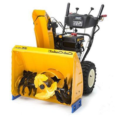 "HD Cub Cadet 3X Snow Blower Thrower 30"" Gas Powered Electric"
