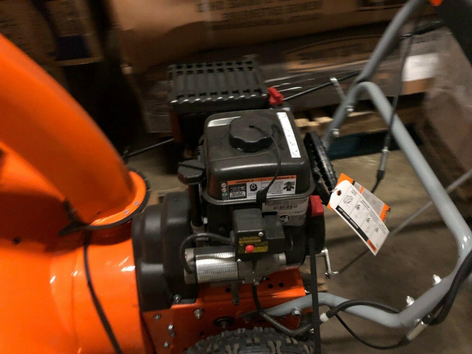 Yardmax snow blower thrower YB6770 gas electric start