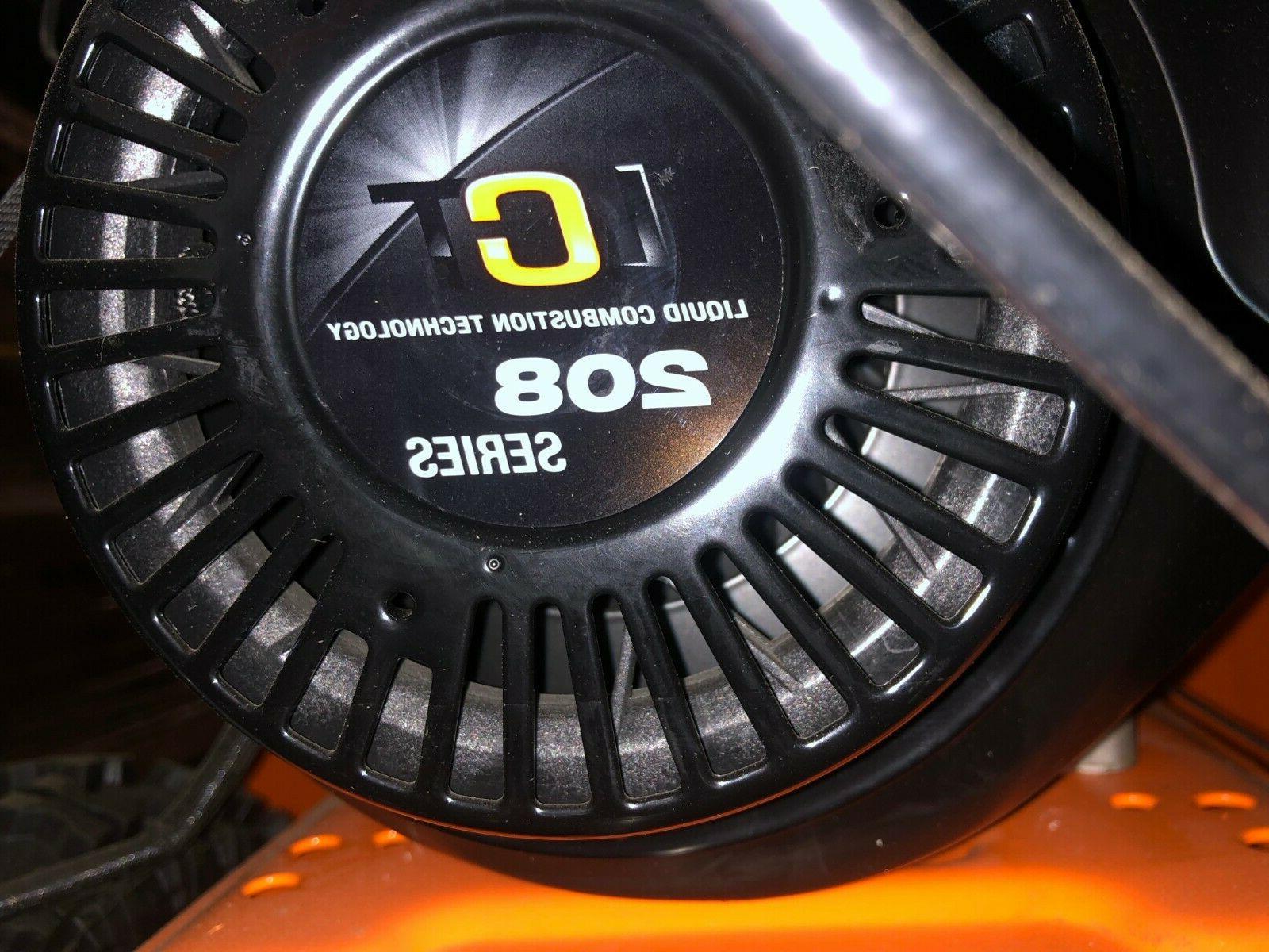 "Yardmax 26"" snow blower thrower YB6770 gas electric start"
