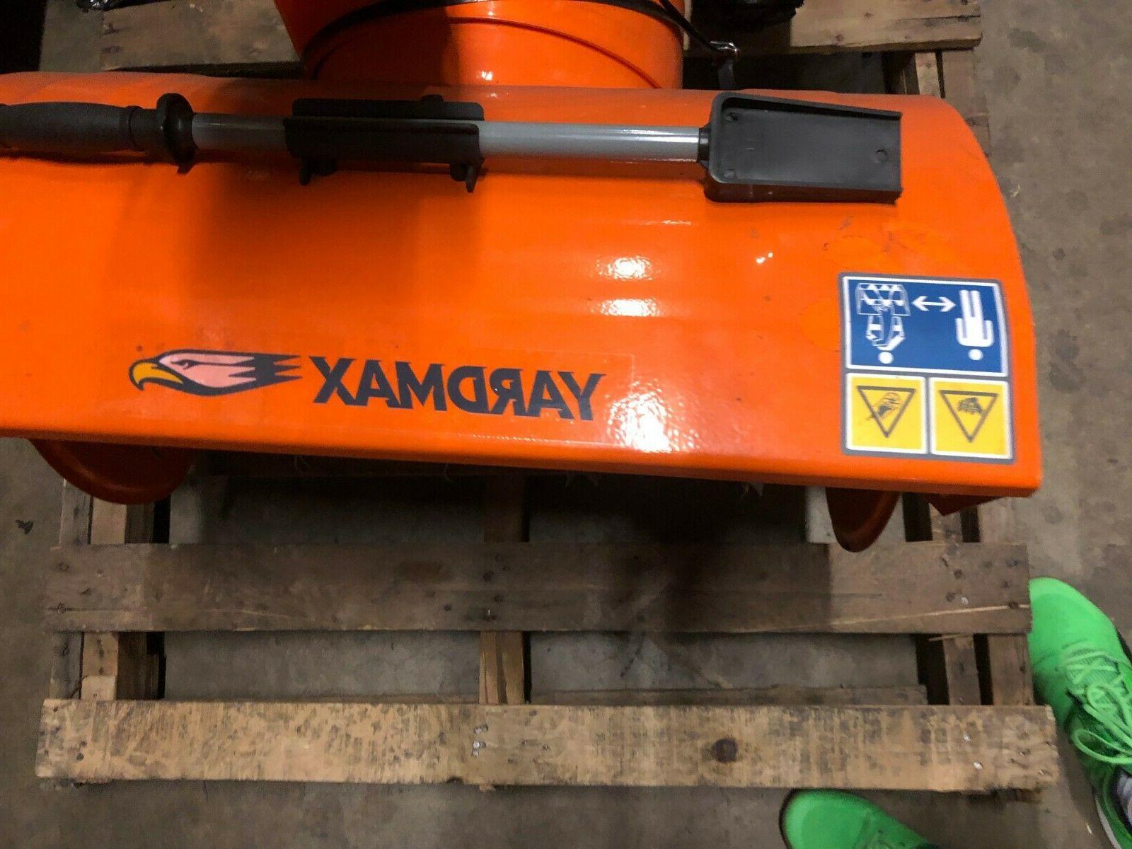 """Yardmax 26"""" thrower YB6770 electric"""